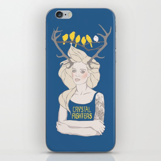 Crystal Fighters iPhone & iPod Skin