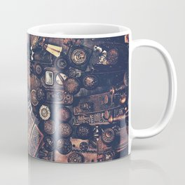 Collage of old door knobs Coffee Mug