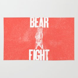 Bear Fight Rug