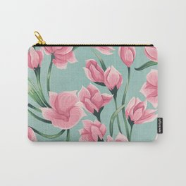 floral pattern 2 Carry-All Pouch
