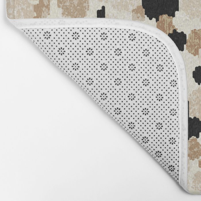 Pattern Dots Bath Mat