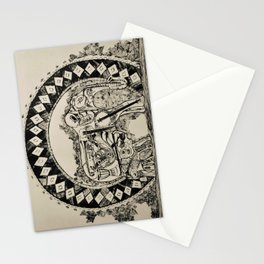 The Melodies Within a Savannah Stationery Cards