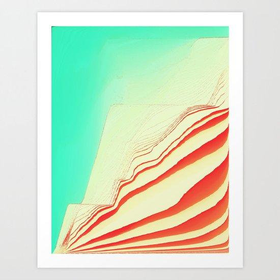 PlayTime glitch Art Print