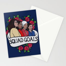 The Squad Stationery Cards