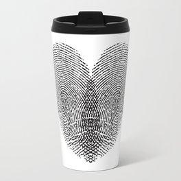 Love Fingerprint Travel Mug