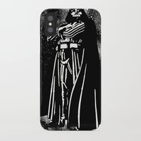 vader iPhone & iPod Cases featuring Vader by Saundra Myles