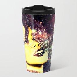 Baby, You're A Star : Magenta Teal Galaxy Travel Mug