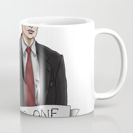 TRUST NO ONE Coffee Mug