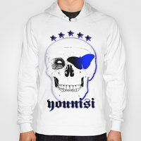 brand new Hoodies featuring new Brand Younisi Skull by DL-Marketing Design