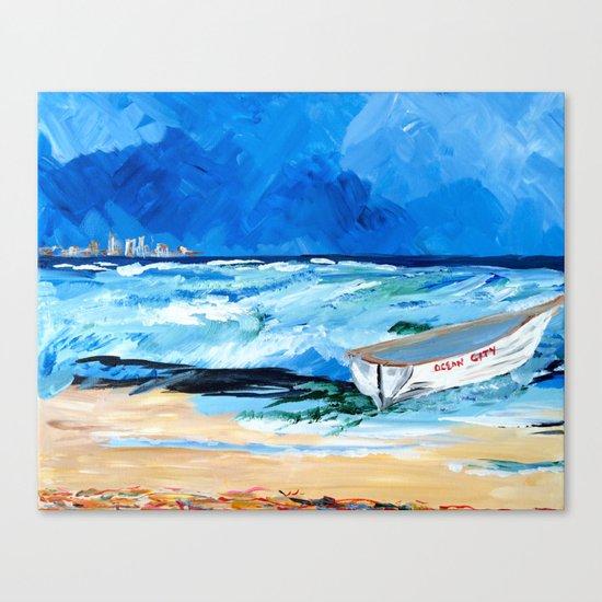 Ocean City Summer Canvas Print