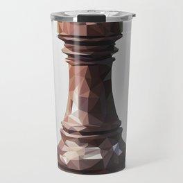 rook low poly Travel Mug