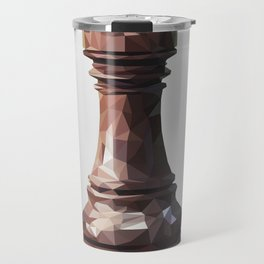 rook low poly Travel Mug