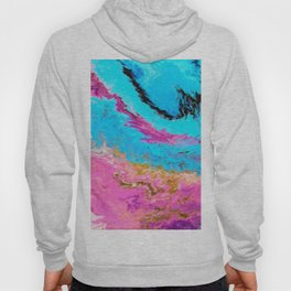 Abstract Oil 1 Hoody