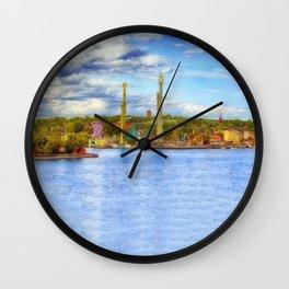 Gröna Lund Wall Clock