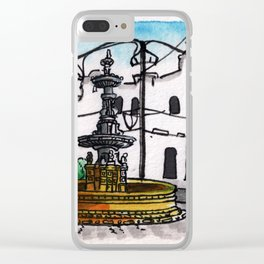 Philippines : Carriedo Fountain Clear iPhone Case
