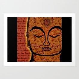 Buddha Love Art Print