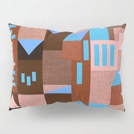Brown Klee houses Pillow Sham