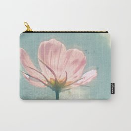 Pink Cosmos Carry-All Pouch