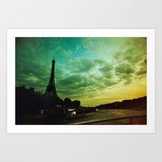 Paris Xpro Art Print