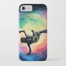 Jump into A Universe of infinite possibilities iPhone Case