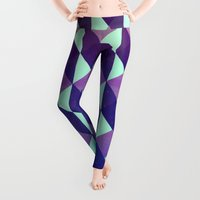 geometric Leggings featuring Geometric by Jozi