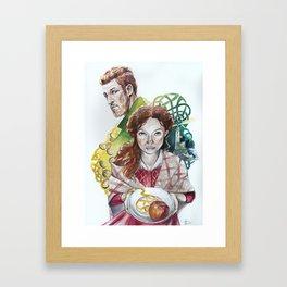 A Prayer for Mad Sweeney Framed Art Print