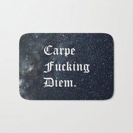 Carpe Diem (Seize The Day) Bath Mat