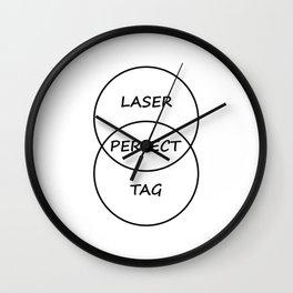 Lasertag Wall Clock