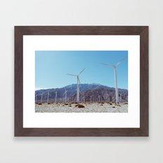 Palm Springs Windmills XI Framed Art Print