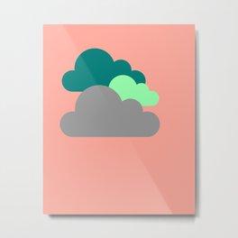 Cloudster 4 Metal Print