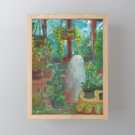 another haunted greenhouse  Framed Mini Art Print