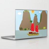 vietnam Laptop & iPad Skins featuring Vietnam View by Design4u Studio
