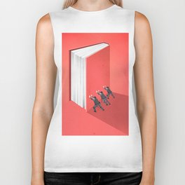 BANNED BOOKS Biker Tank