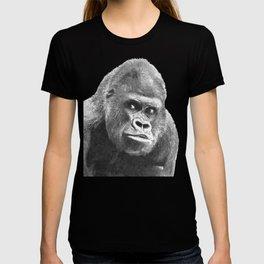 Black and White Gorilla T-shirt