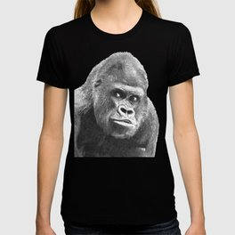 Black and White Gorilla T-shirt