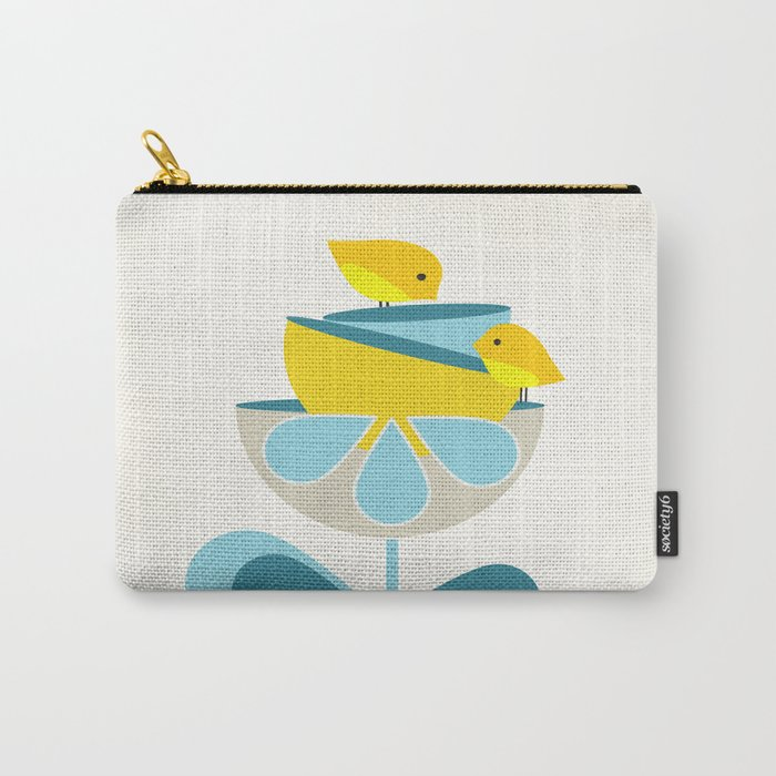 Birdies #society6 #buyart #decor Carry-All Pouch