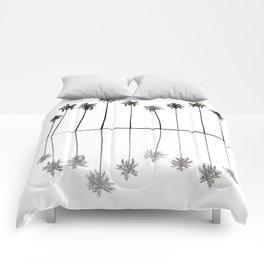 Palm Reflections II Comforters