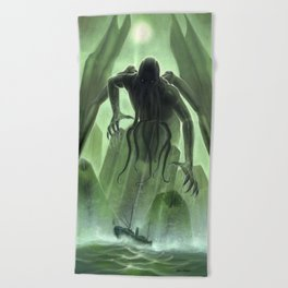 The Call of Cthulhu Beach Towel