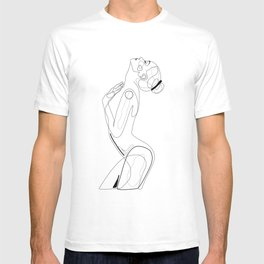 Naked Profile Lines T-shirt