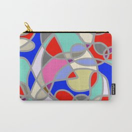 Stain Glass Abstract Meditation Painting 1 Carry-All Pouch