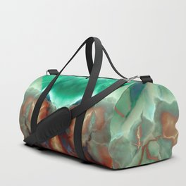 ONYX MARBLED TURQUOISE Duffle Bag
