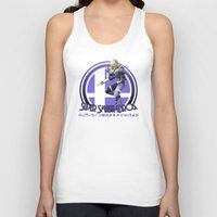 smash bros Tank Tops featuring Sheik - Super Smash Bros. by Donkey Inferno