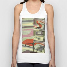 Pipes Unisex Tank Top