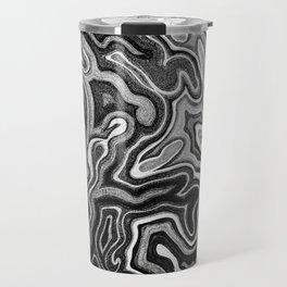 Abstract #1 - I - Silvered Travel Mug