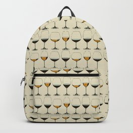 Vintage Wine Glasses Backpack