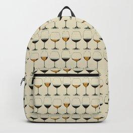 Vintage Wine Glasses Backpack