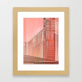 Pinky Space / URBAN 25-07-16 Framed Art Print