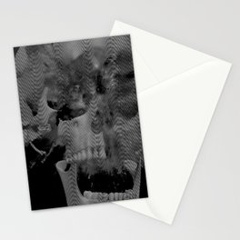 Skull Wave Stationery Cards