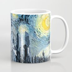 Starry Night Over Atlantis Mug