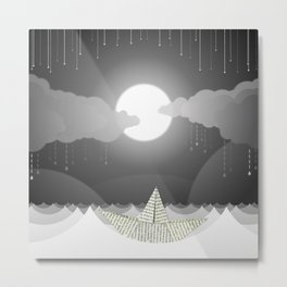 Dream Sea Metal Print